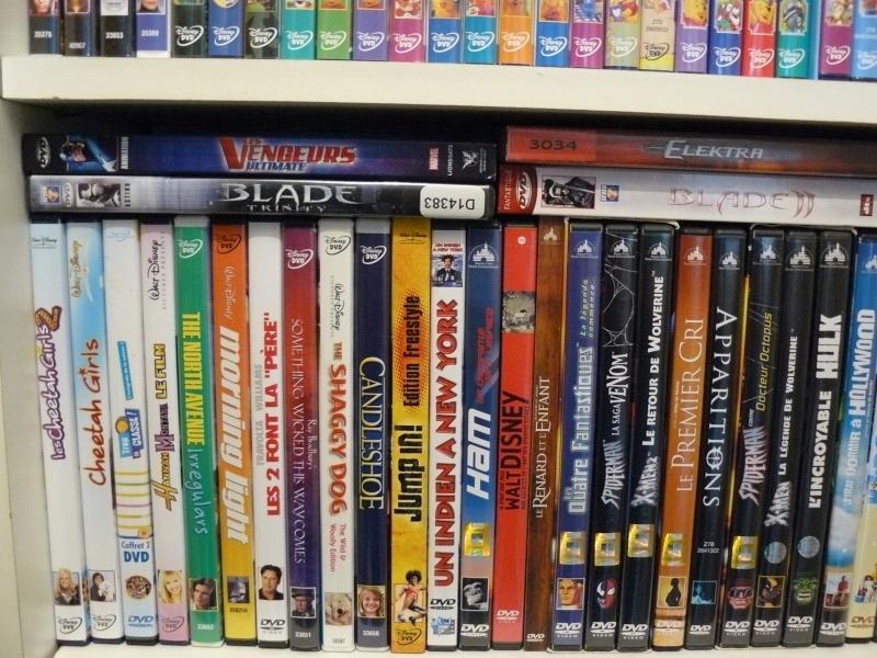 Postez les photos de votre collection de DVD et BrD Disney ! - Page 37 P1050734