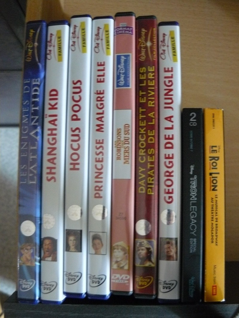 Postez les photos de votre collection de DVD et BrD Disney ! - Page 37 P1050743