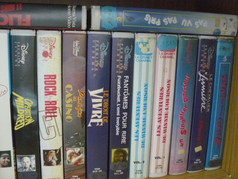 Postez les photos de votre collection de DVD et BrD Disney ! - Page 37 P1050754