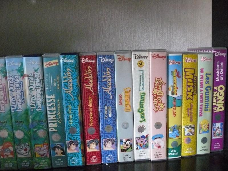Postez les photos de votre collection de DVD et BrD Disney ! - Page 37 P1050820