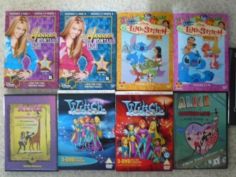 Postez les photos de votre collection de DVD et BrD Disney ! - Page 38 P1050839