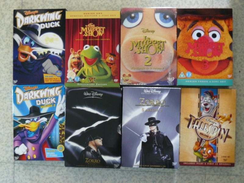 Postez les photos de votre collection de DVD et BrD Disney ! - Page 38 P1050841