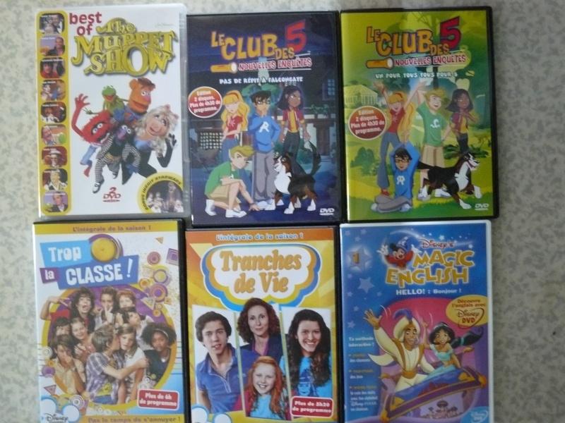 Postez les photos de votre collection de DVD et BrD Disney ! - Page 38 P1050842