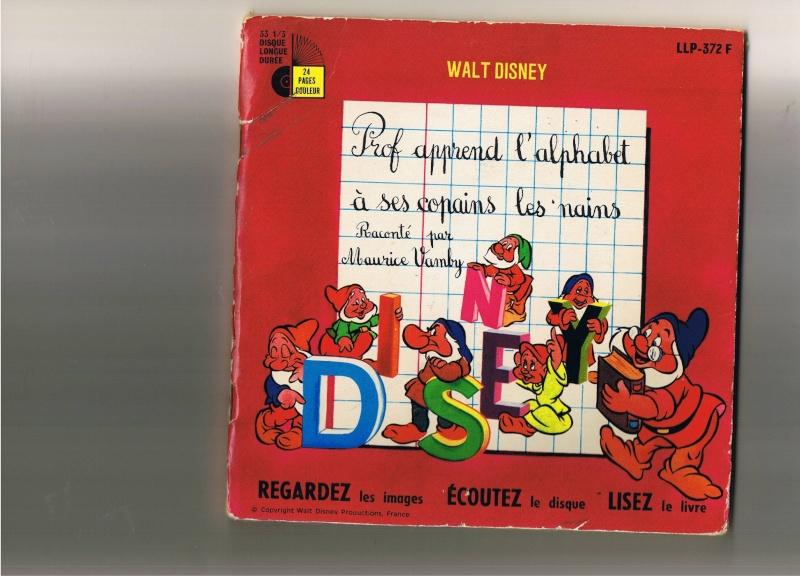 [disneyland-record] les livres disques de walt disney productions Profs10
