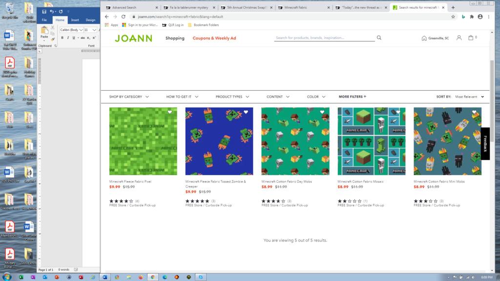 Minecraft Fabric Minecr10