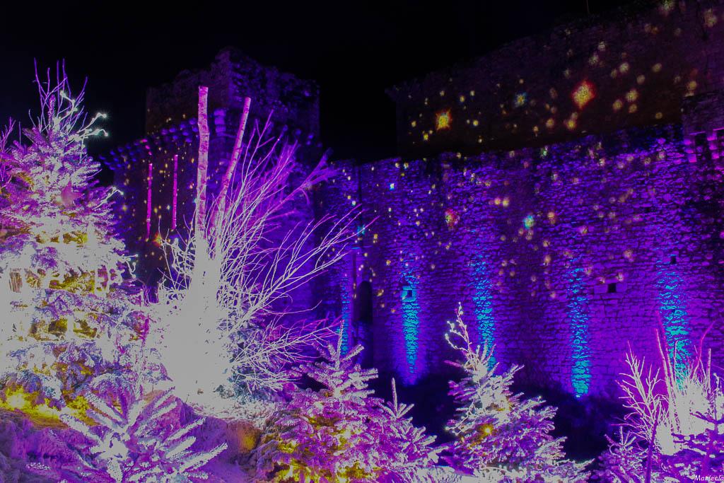 Le château.............la nuit tombée Img_2911