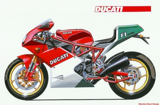 Oberdan Bezzi design Ducati15