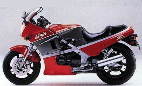Kawasaki GPZ400R Kawasa15