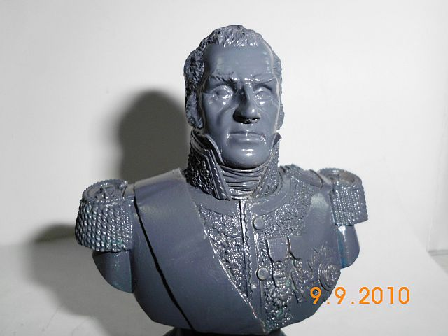 Verlinden 1134 - Büste Marshal Oudinot in 1/9 = 200mm 113