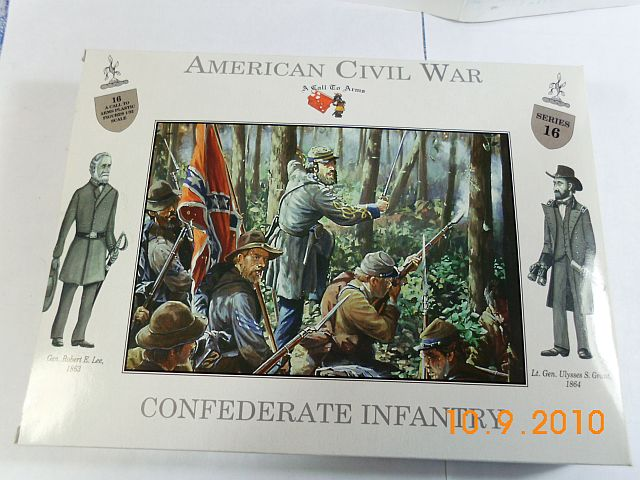 A call to arms 16 - Confederate Infantry in 1/32 - Vorstellung 115