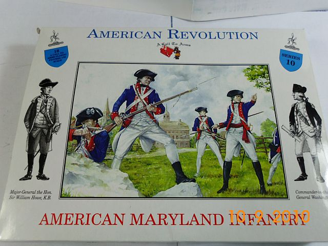 A call to arms 10 - Maryland Infanterie in 1/32 - Vorstellung 116