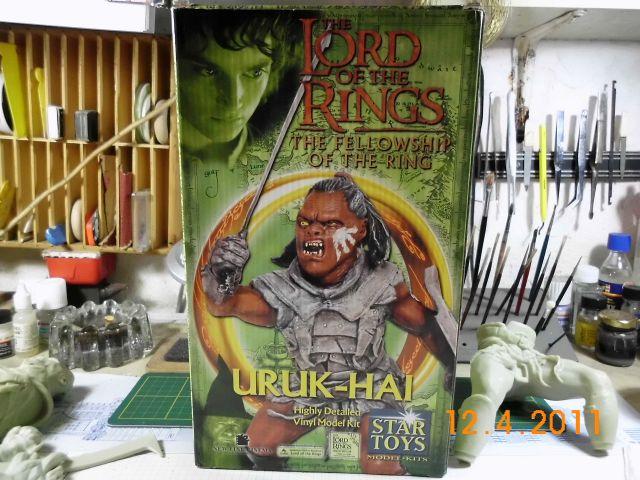 Star Toys - Uruk-Hai, Vinyl-Bausatz 1/6 143