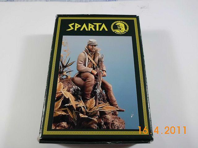 Sparta Modellbau F5422 - Konföderierter 1861 - 1865 54mm Zinnbausatz 148