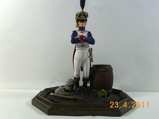Verlinden 890 - Offizier der Füsilier -Chasseurs 1810 - 120mm - Galeriebilder 156