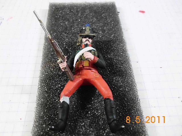 Metal Models - Husar des 7ten Regiments 1808 - 54mm 168
