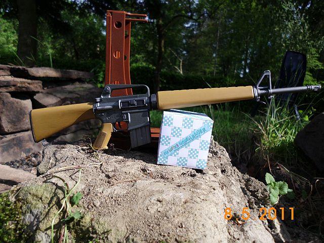 Trumpeter 01906 - Sturmgewehr M16M4 - Bausatz 1/3 - Vorstellung 169