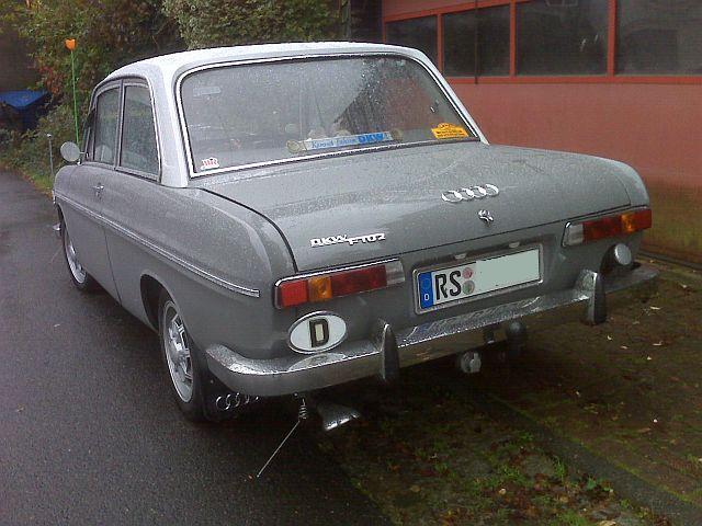 Auto Union / DKW F102 - Vorbildfotos  228