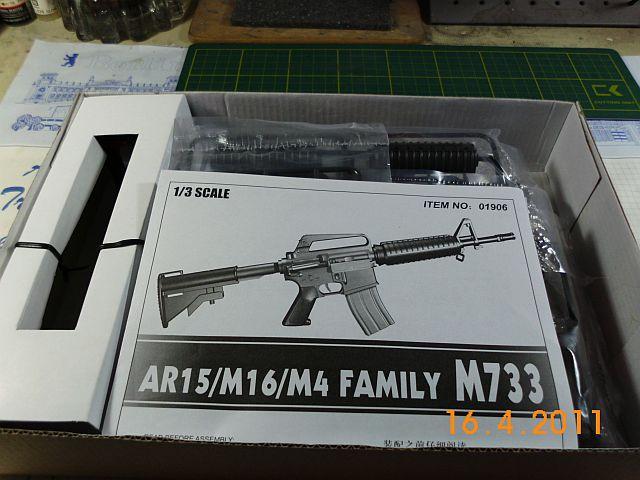 Trumpeter 01906 - Sturmgewehr M16M4 - Bausatz 1/3 - Vorstellung 246