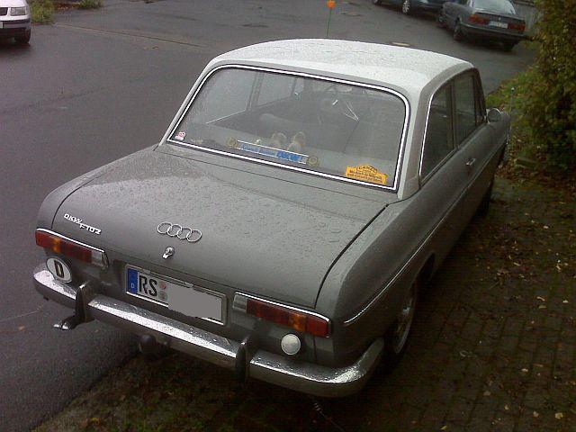 Auto Union / DKW F102 - Vorbildfotos  321