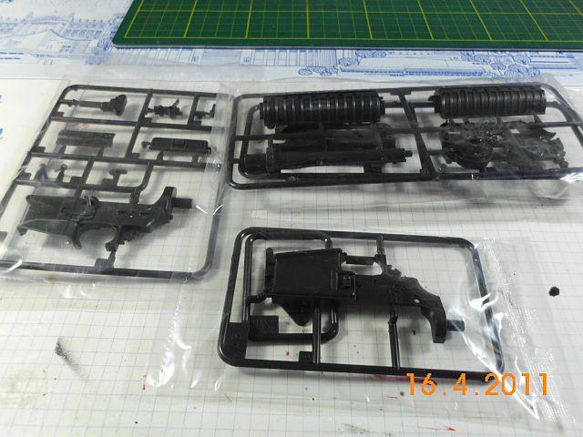 Trumpeter 01906 - Sturmgewehr M16M4 - Bausatz 1/3 - Vorstellung 338