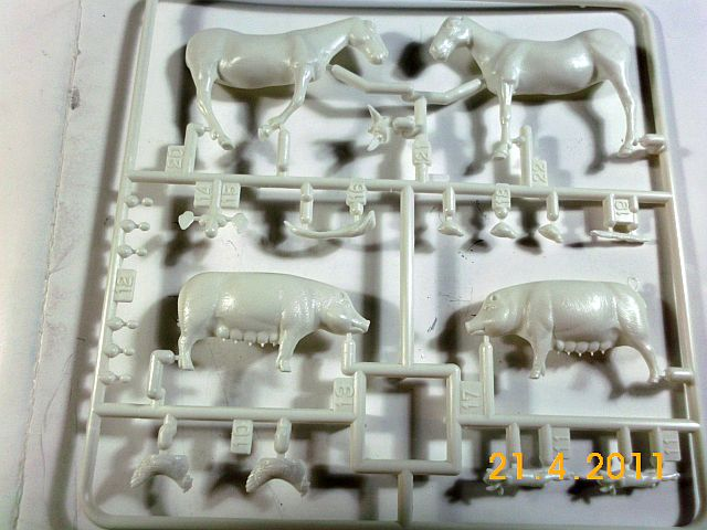 Tamiya - Livestock Set (Farmtiere) 0128 in 1/35 - Vorstellung 340