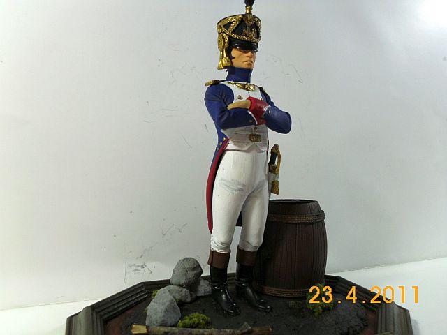 Verlinden 890 - Offizier der Füsilier -Chasseurs 1810 - 120mm - Galeriebilder 344