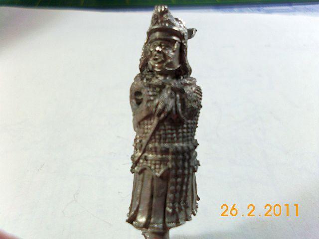 Jantar - Römischer Signifer, Zinnbausatz 54mm  3a10