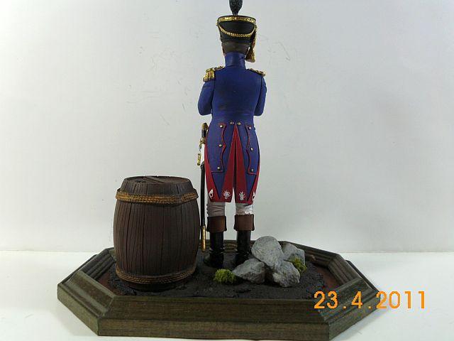 Verlinden 890 - Offizier der Füsilier -Chasseurs 1810 - 120mm - Galeriebilder 438