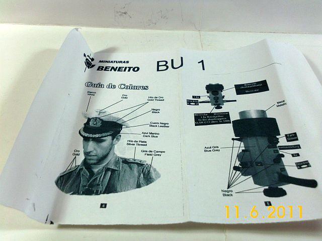 Beneito BU 01 - Erich Topp Resin/Zinn Büste in 1/10  9_anle10