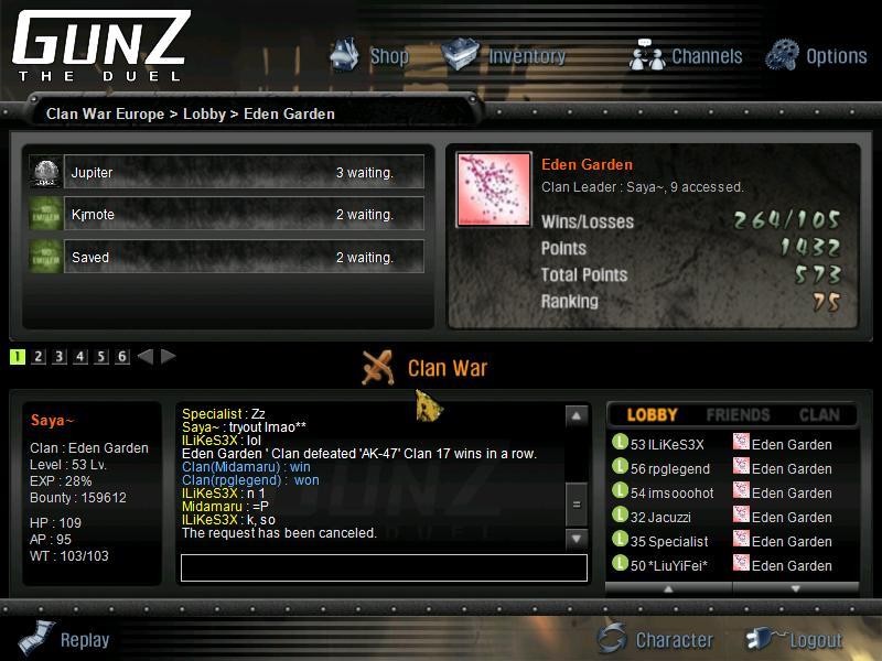 The story. Gunz2910
