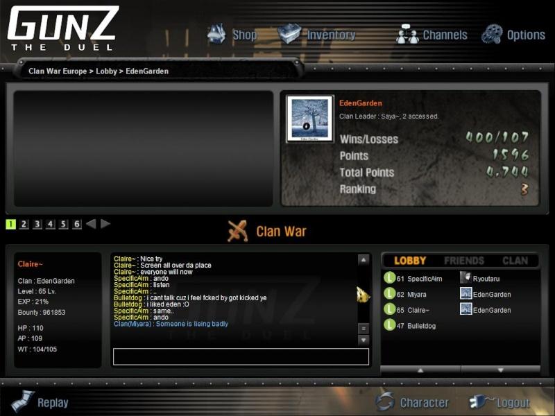 The story. Gunz5110