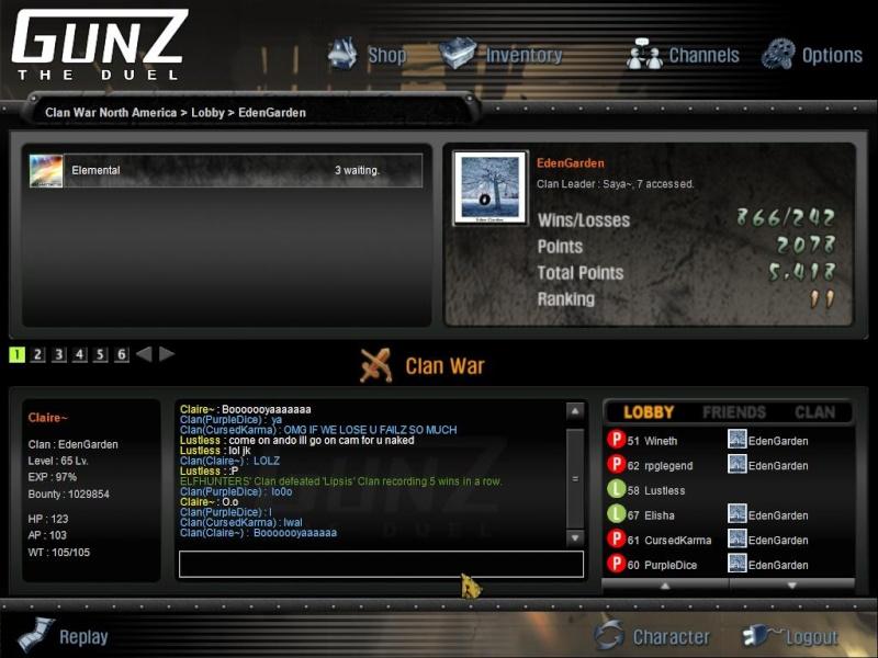 The story. Gunz5510