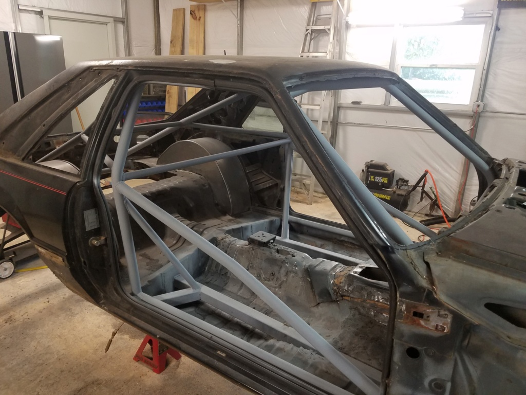Bruno's 87 Mustang build - Page 3 87cage22
