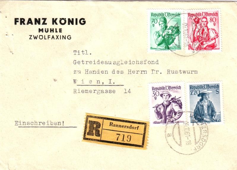 Trachtenserien ANK 887 - 923 und 1052 - 1072 Belege - Seite 5 1958_b10