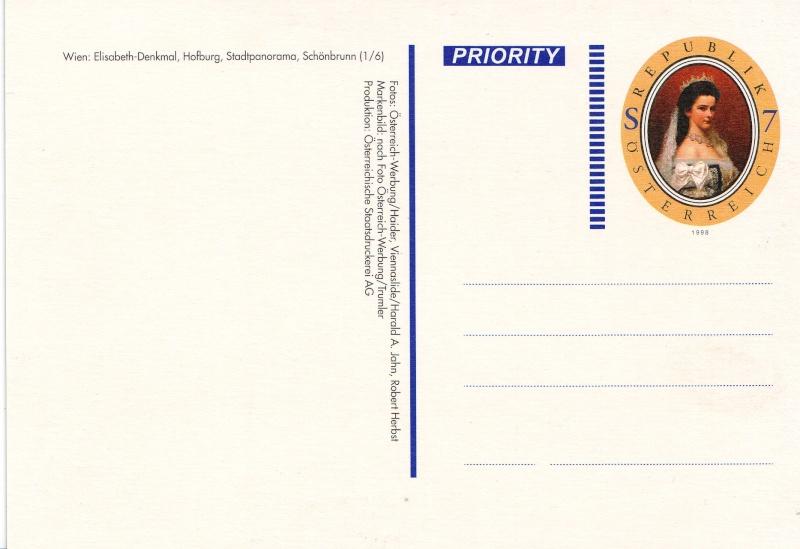 Ansichtskarten mit Werteindruck = Bildpostkarten Elisab12