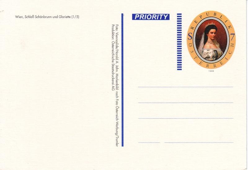 Ansichtskarten mit Werteindruck = Bildpostkarten Schloa14