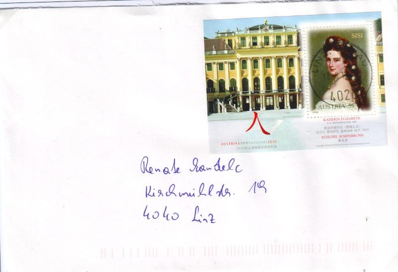 Sammlung Bedarfsbriefe Österreich ab 1945 - Seite 3 Sissi_10