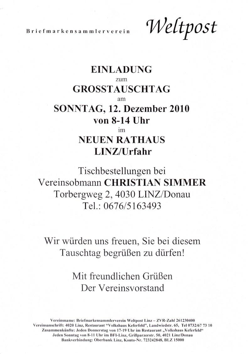 Grosstauschtag in Linz/Urfahr 12.12.2010 Tausch11