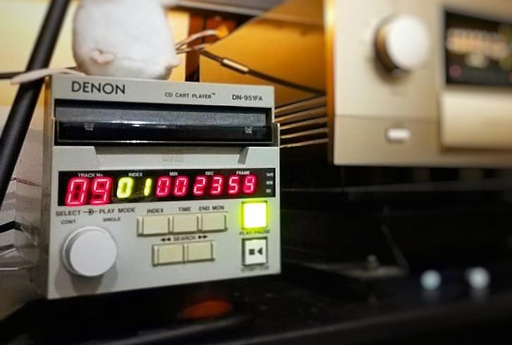 Denon 951 studio cd player (used) Img_2017