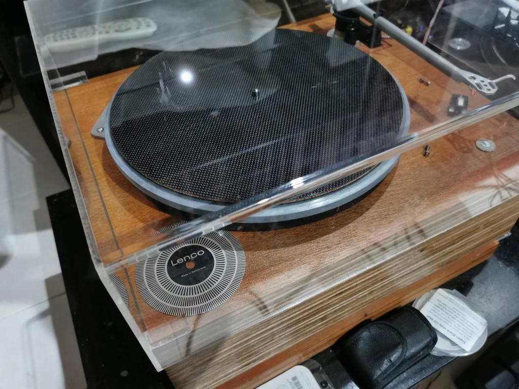 Lenco base PTP5 and Technics SL1200mk6 turntable (used)  Img_2026