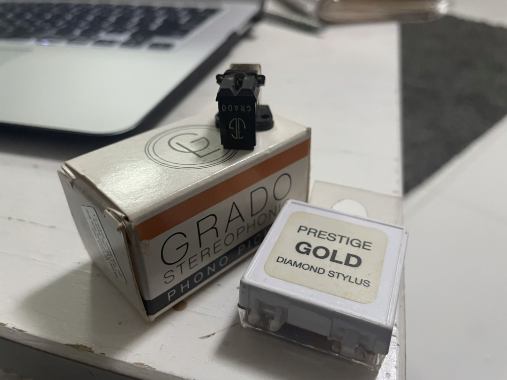 Grado Prestige Gold with new replacement stylus 5d880610