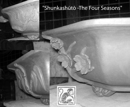 Stone Monkey Ceramics collectors pot 2010 Collec10