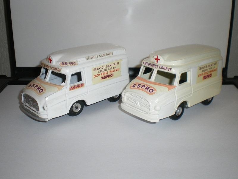 """Citroën miniatures > """"Ambulances, transports de blessés et assistance d'urgence aux victimes"""" Imgp4810"""
