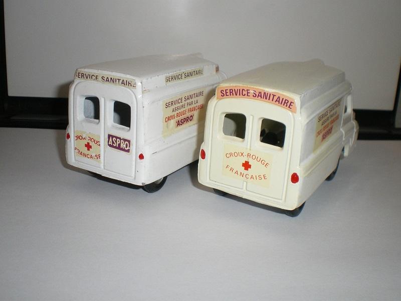 """Citroën miniatures > """"Ambulances, transports de blessés et assistance d'urgence aux victimes"""" Imgp4811"""