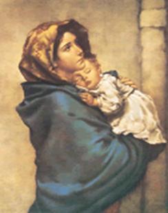 MADONNINA - Une oeuvre du peintre Roberto Ferruzzi Image010