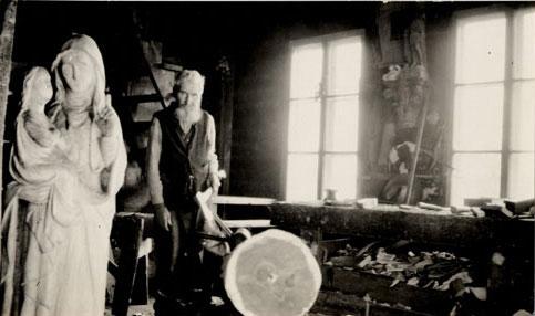 Louis Jobin, sculpteur. Mb062111