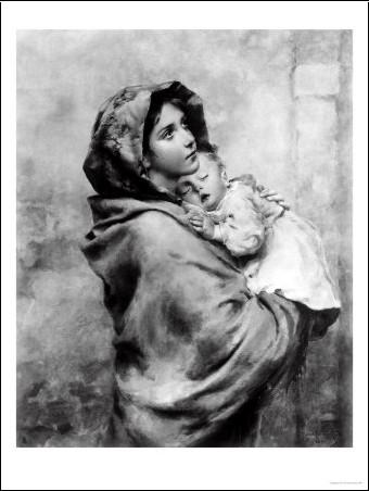 MADONNINA - Une oeuvre du peintre Roberto Ferruzzi Robert10