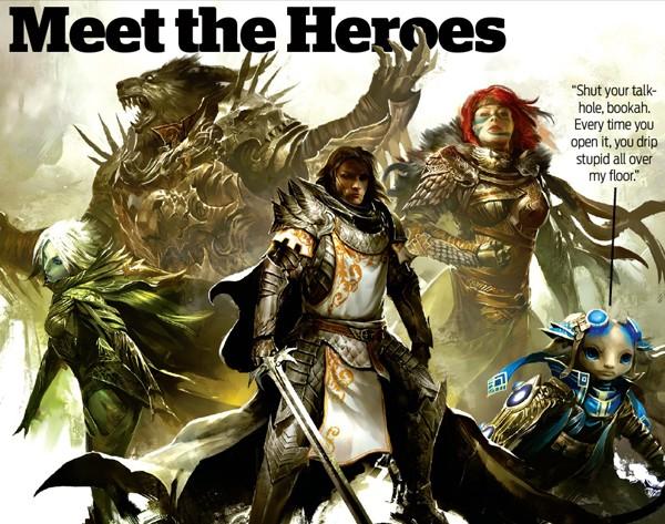 """22 de Octubre 2010 """"Guild Wars 2 A Fondo"""" Pcgamer(3) Heroes10"""
