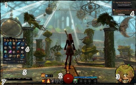 """6 de Septiembre del 2010 """"La Interfaz de Guild Wars 2"""" Interf10"""