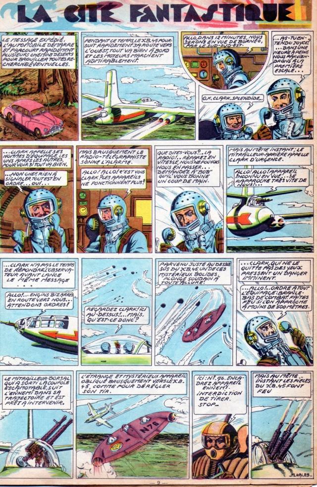 Clarck pilote d'essai Clark020